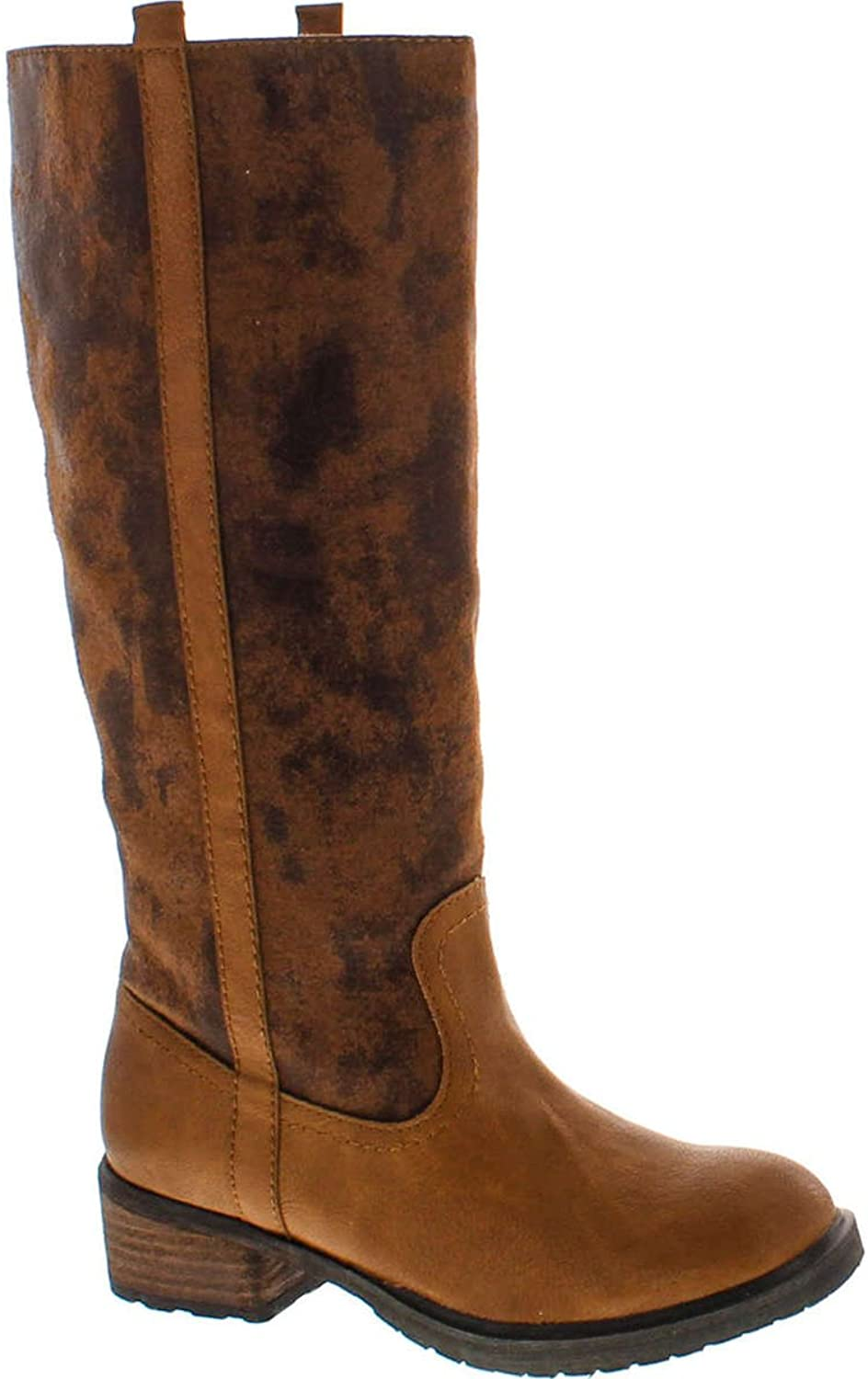Volatile Womens Wilkes Riding Boots,Tan,7.5