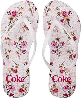 Chinelo Coca-Cola Floral Connection feminino