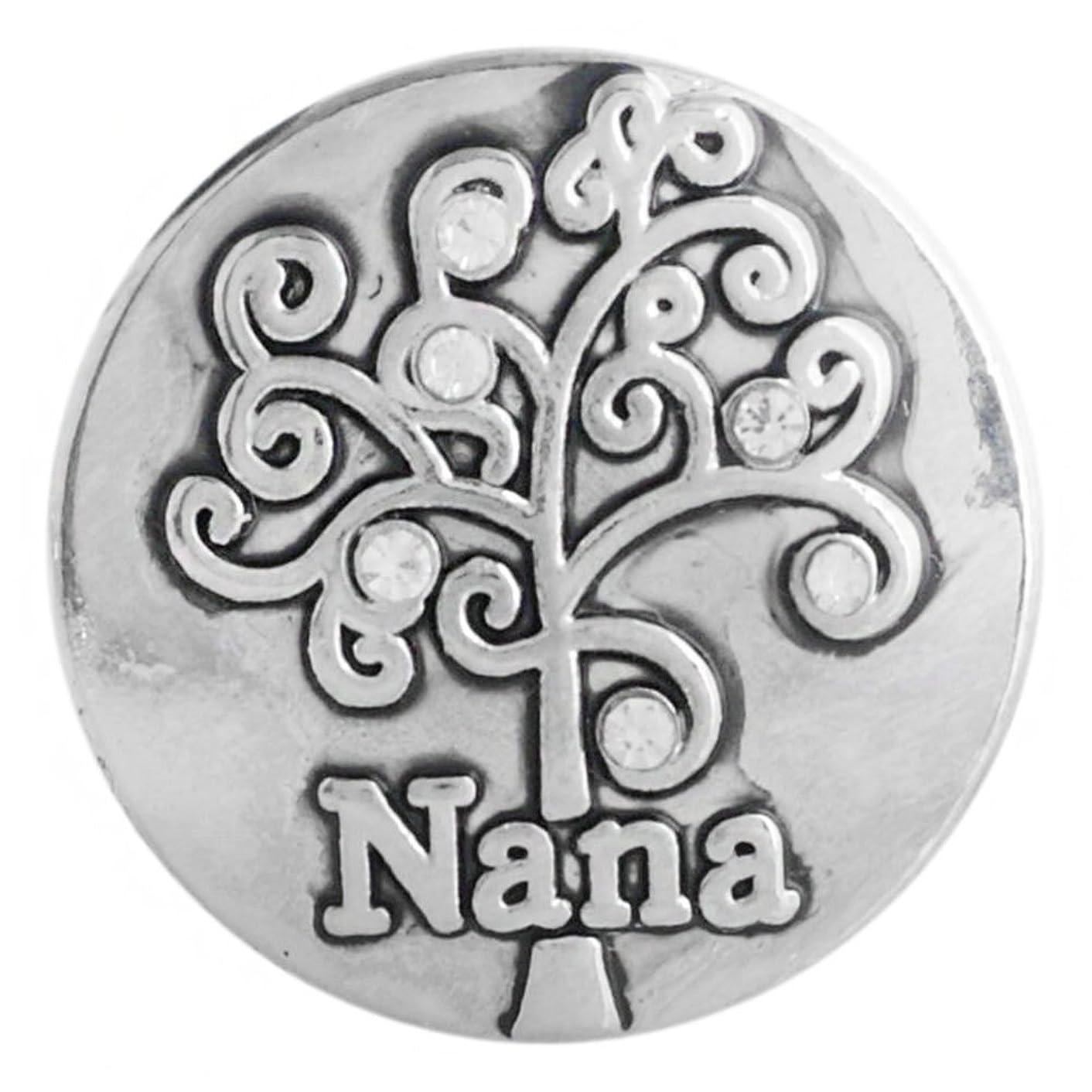 Snap Charm Nana Family Tree 20 mm 3/4