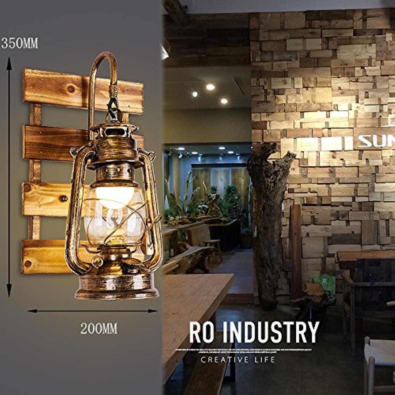 Wlxsx Retro Nostalgie Restaurant Bauernhof Antiken Industrial Wind Korridor Kreative Lampe Kerosin Lampe Laterne Einen Wasserdichten Wand Lampe. E