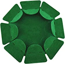 Runytek All-Direction Golf Putting Cup Putter Cup Training Hole Practice Plate Surface Flocking Aid Indoor/Outdoor