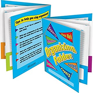 Really Good Stuff 6-Pocket Organizing Folders