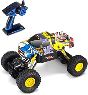 Geekper 1:16 2.4Ghz Electric RC Car Off Road Remote Control RTR Buggy 4WD High Speed Monster Truck