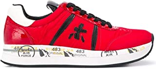 PREMIATA Luxury Fashion Womens CONNY4085 Red Sneakers | Fall Winter 19