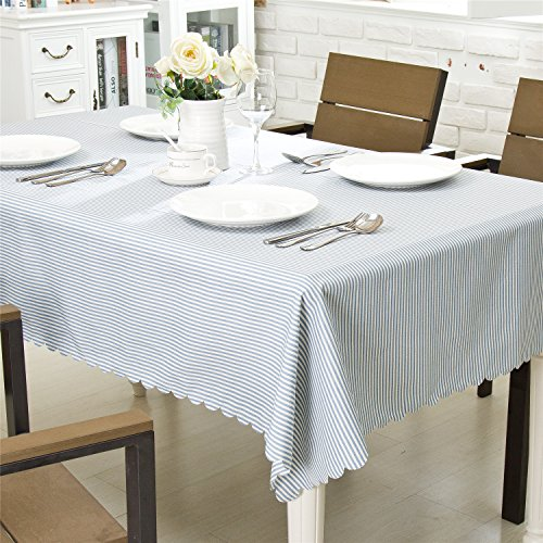 "OstepDecor Premium Waterproof Tablecloth 100% Polyester Banquet Wedding Party Picnic Table Cover - Rectangle/Oblong, 60"" x 120"""