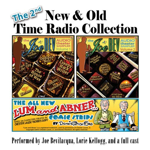 The 2nd New & Old Time Radio Collection audiobook cover art