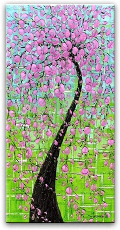 respuestas rápidas HBHBS sobre lienzo lienzo lienzo pintado a mano Pintura Al óleo Pintada A Mano Decoración para El Hogar Pintura Lienzo Pintura Flor Foto 60x60CM (24X24in)  los clientes primero