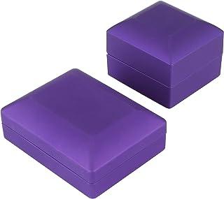 LFLF (Violet Affichage De Bijoux LED Pendentif Collier Boîte De Fiançailles Boîte De Fiançailles