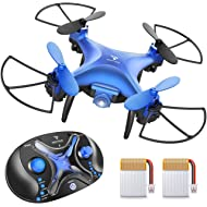 SNAPTAIN SP310 Mini Drone for Kids, Throw'n Go RC Quadcopter for Beginners w/ 3D Flips, Altitude...