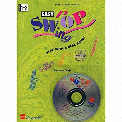 EASY SWOP BD 1 - arrangiert für Querflöte - mit CD [Noten/Sheetmusic] Komponist : GORP FONS VAN