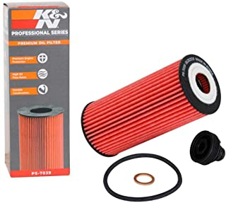 K&N Premium Oil Filter: Designed to Protect your Engine: Compatible with Select BMW/MINI Vehicle Models (See Product Description for Full List of Compatible Vehicles), PS-7039