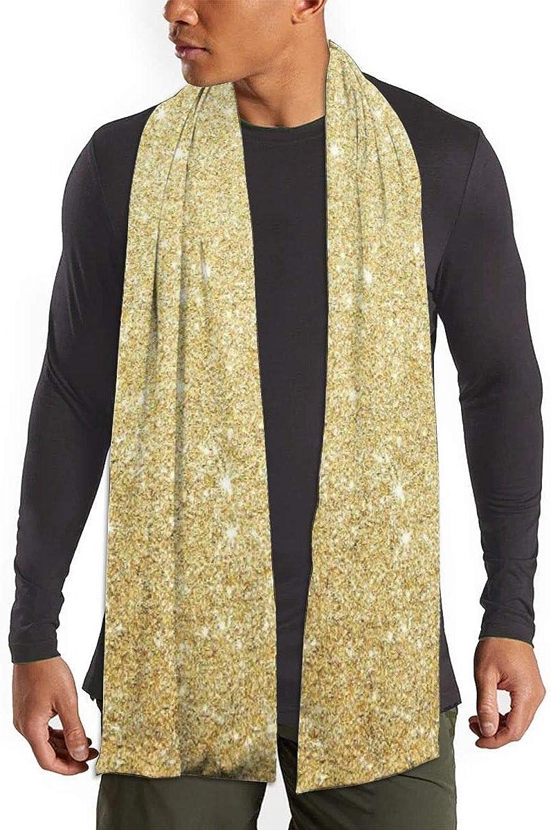 Gold Glitter Scarfs – Imported Lightweight Neckwear Blanket Wrap Winter Shawl