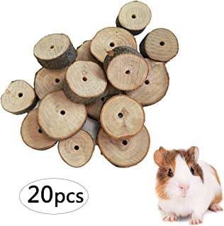 kathson Hamster Chew Sticks, Rat Apple Wood Branch Chews Molar Teething Toys Organic Treats for Rodents Bunny Guinea Pigs Chinchillas Rabbits and Gerbils