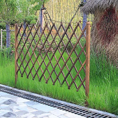 Staking Zaun, Gartenpartition im Freien Gartenpartition Dekoration Zaunpfosten, Rasen-Seitenzaun, Unterstützungsrahmen for Kletterpflanzen Zaunpfosten (Size : H50cm)