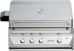 Twin Eagles 36 Inch Built-In Natural Gas Grill with Infrared Rotisserie and Sear Zone