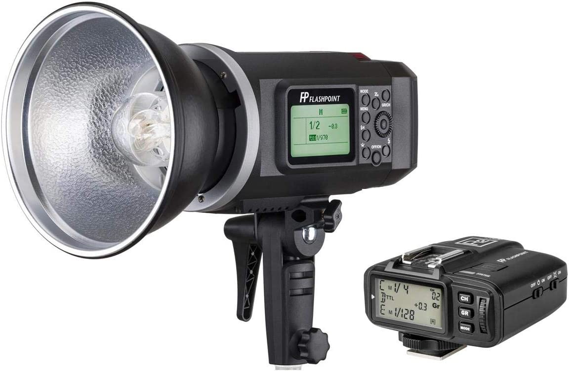 Import Flashpoint XPLOR 600 HSS Sale item Built-in Battery-Powered with Monolight