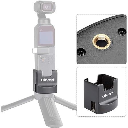 Ulanzi OP2 Osmo Pocket ホルダー USB-C アクセサリー pocket アクセサリー 三脚/アルカスイス 2-wayマウントアダプター