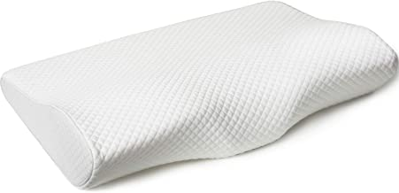 Breathable Memory Foam Pillow, Cervical Pillow Bed Pillow Effective Washable Covers Orthopedic Contour Pillows Sleepers Pi...
