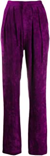ISABEL MARANT Luxury Fashion Womens PA137119A019I40FA Purple Pants | Fall Winter 19