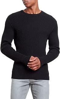 Men's Engineered Rib Crew Sweater