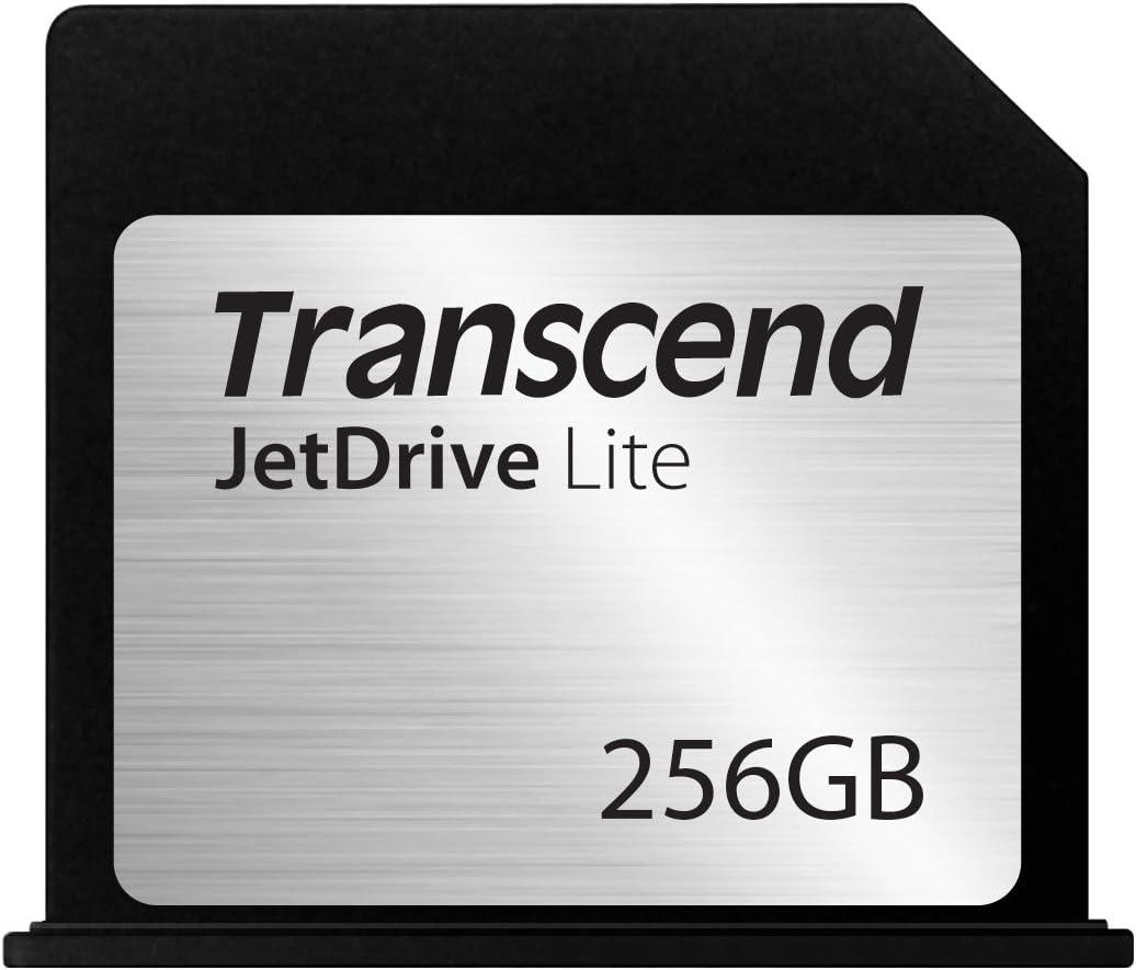 Transcend 256GB JetDrive Lite 130 Storage Expansion Card for 13-Inch MacBook Air (TS256GJDL130) Black