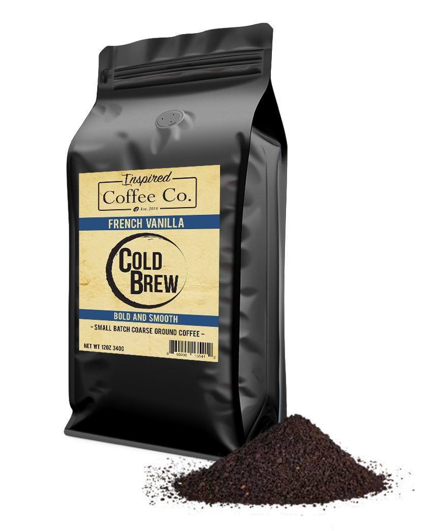 French Vanilla - Flavored Cold Brew Coffee - Inspired Coffee Co