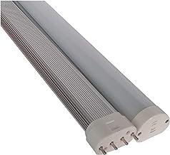 LED Light Bulbs 2PCS Led 2g11 Plug Light 22W 100-277V High CRI Milky White Transparent Hood Stripes 2g11 LED High Beam LED...