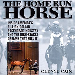 The Home Run Horse audiobook cover art