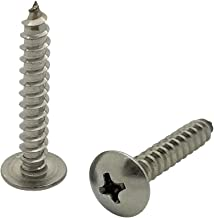 SNUG Fasteners (SNG96) 100 Qty #8 x 1 Truss 304 Stainless Phillips Head Wood Screws