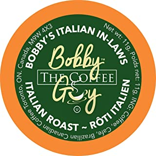 Bobby The Coffee Guy Italian In- Laws, Compatible with Keurig K-Cup Brewers, 24 Count