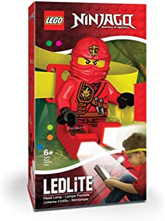LEGO Ninjago Kai Head Lamp - Elastic Headband with Bright LED Lights and TimerNinjago