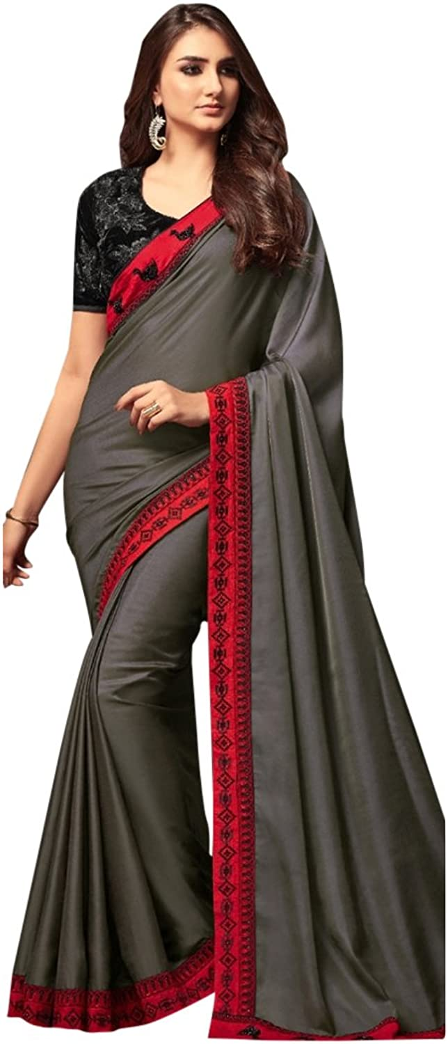 Bollywood Bridal Saree Sari for Women Collection Blouse Wedding Party Wear Ceremony 828 11