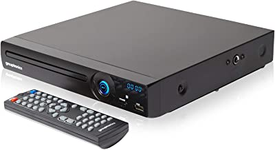 Grouptronics Gtdvd-181Compact Multi région Lecteur DVD et karaoké avec Lecteur USB,..