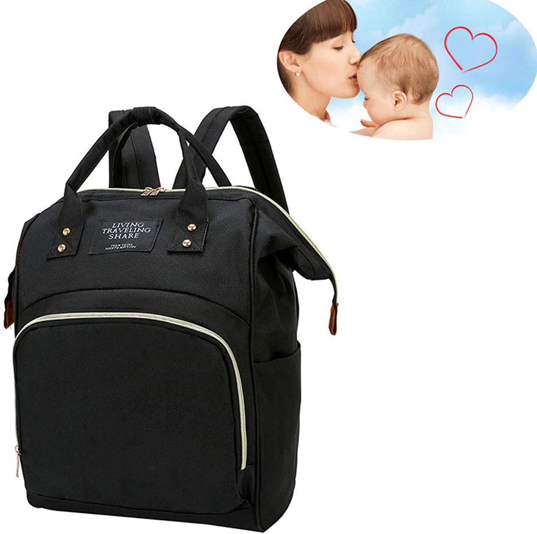 WDXIN BabyWindel Rucksack Mami-Rucksack Mode Muttertasche Reisetasche mit groem Fassungsvermgen.