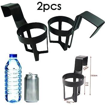 Plastique ABS et PP Noir gobelets /à Eau SENZEAL Porte-gobelet de Voiture avec Support pour Bouteille de Boissons