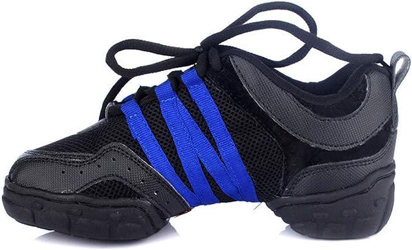 ZQ@QXLa mode moderne confortable chaussures de fitness chaussures de danse maille taille dame