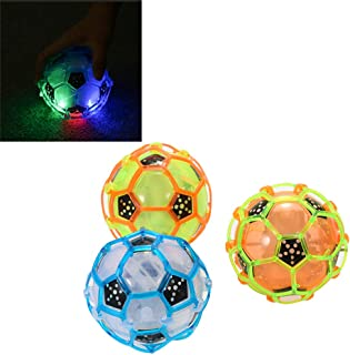 helegeSONG Dancing Ball Toy, Bouncing Sensory Ball Music Shake Soccer Toy, Light Up Soccer for Kids,Toddler,Boys and Girls...