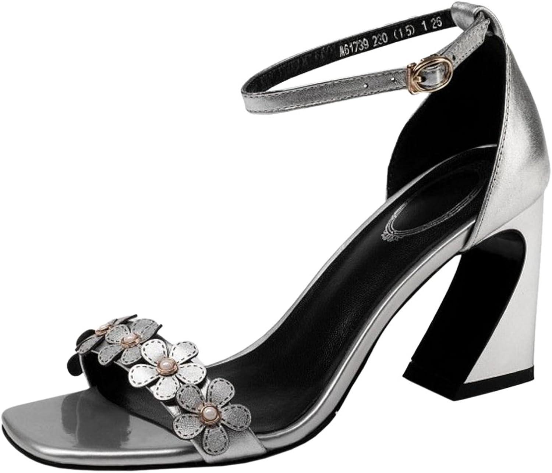 JONUNU kvinnor kvinnor kvinnor hög klack Dress Sandals  bekvämt