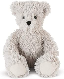 Vermont Teddy Bear Stuffed Animal – Gray Teddy Bear, 13 Inch, Earl Grey, Super Soft