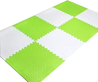 Foam pad Foam Puzzle Mats Environmentally Friendly And Tasteless Leaf Pattern Crawling Mat Plus Thick Fitness Mat EVA, 5 C...