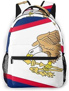 Backpack Samoa Americana Bandera Niñas Viajes Moda Casual Mochila Acogedora Viaje Impresión Mochila Niños Durable Escuela Ligera Estudiante Escuela Colegio Mochila Regalo De Cumple