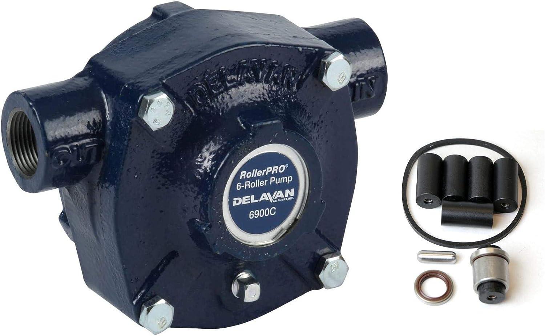 Delavan 6900C Roller Pump with Repair Items Louisville-Jefferson County Mall 2 Dallas Mall Kit Bundle