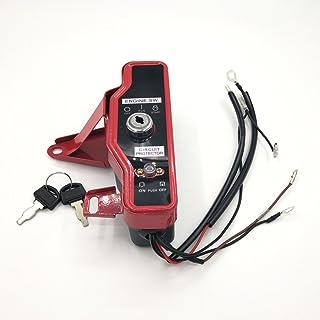 Cancanle Caja del Interruptor de Encendido con Llaves para Honda GX160 GX200 5.5HP 6.5HP Generador Motor de Gas de 4 Tiemp...