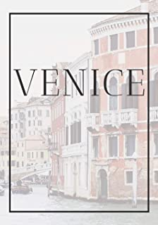 Venice: A decorative book for coffee tables, end tables, bookshelves and interior design styling - Stack Italy city books ...