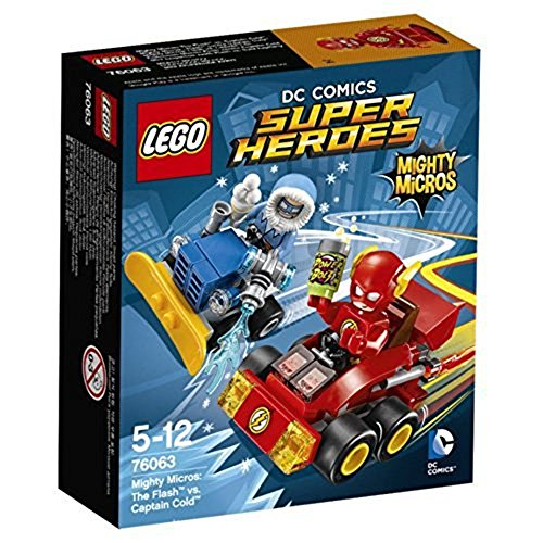 LEGO Super Heroes - Set Mighty Micros: Flash vs. Capitán Frío (76063)