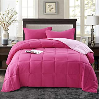 pink twin size comforter