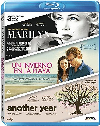 Pack: Mi Semana Con Marilyn + Un Invierno En La Playa + Another Year [Blu-ray]