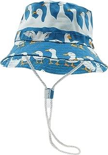 deendeng Bambini Cappello Parasole a Molla con Visiera a Cappello da Bambino Bambino Cappello