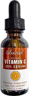 Ebanel 20% Vitamin C Serum for Face with Hyaluronic Acid, Anti Wrinkle Anti Aging Serum Dark Spot Corrector...