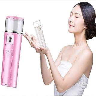 Facial Steamer Nano Mini Face Steamer met 30 ml watertank voor vochtinbrengende gezichtslichaam Mee-eter Acne exfoliatie v...